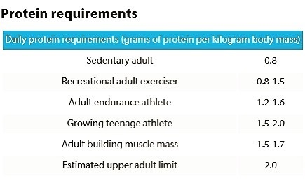 Protein Requirements1